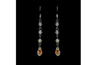 Elegance By Carbonneau Earrings - Style E8130-SilverAB
