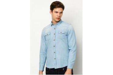JEFFERSON Denim Long Sleeves Shirt
