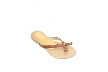 Addie Mocca Flats Sandals
