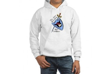 War Chickens Hooded Sweatshirt by CafePress