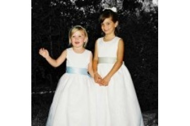 "Rosebud Fashions ""In Stock"" Flowergirl Dress - Style 5101"