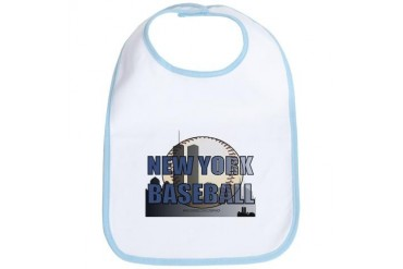 NYBASEBALL.jpg Sports Bib by CafePress