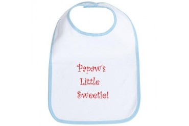 Papaw Grandma Bib by CafePress