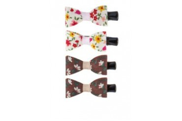 Floral Twin Clips Dual Pack