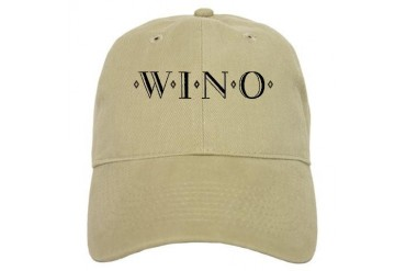 WINO Funny Cap by CafePress