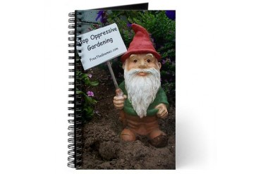 Free the Gnome Journal by CafePress
