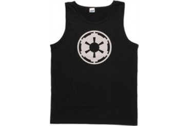 Star Wars Galactic Empire Cog Logo Tank Top