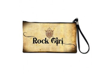 ROCK GIRL Music Clutch Bag by CafePress