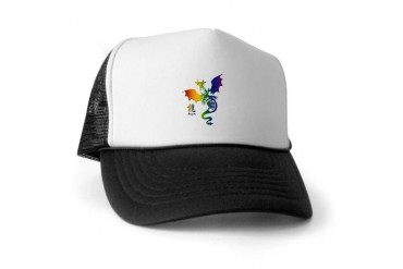 Dragon2 Family Trucker Hat by CafePress