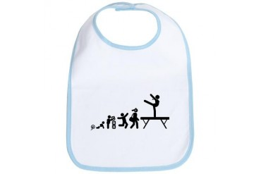 Gymnastic Balance Beam Sports Bib by CafePress