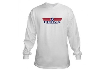 Edina Pride Minnesota Long Sleeve T-Shirt by CafePress