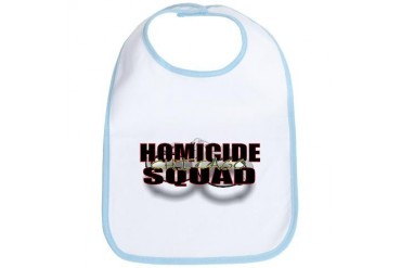 HOMICIDECHIC.jpg Police Bib by CafePress