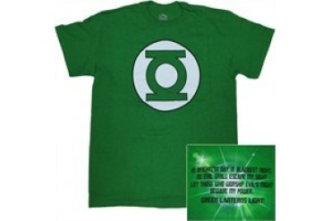 DC Comics Green Lantern Green Lantern's Light Logo T-Shirt