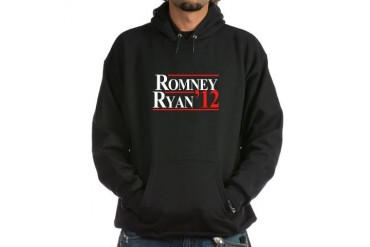 Romney Ryan Republican Hoodie dark by CafePress