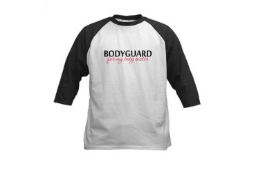 Bodyguard for my Baby Sister Kids Baseball Jersey