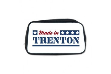 Made in Trenton New jersey Toiletry Bag by CafePress