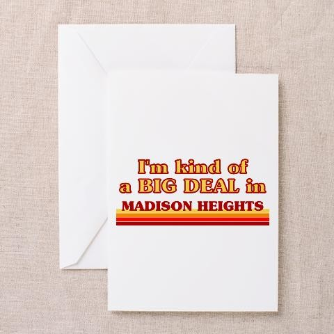 I am kind of a big deal in madison heights greetin michigan greeting i am kind of a big deal in madison heights greetin michigan greeting cards pk of m4hsunfo
