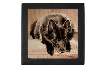 Schipperke Pets Keepsake Box by CafePress