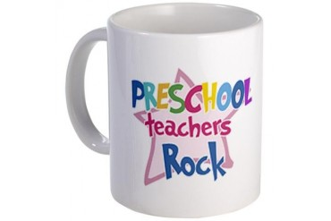 Preschool Teachers Rock - Mug