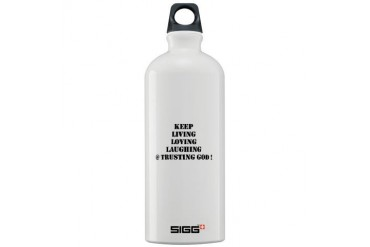 Love Sigg Water Bottle 1.0L by CafePress