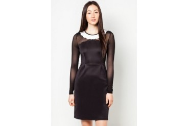 DressingPaula Long Sleeves Knee Length Dress