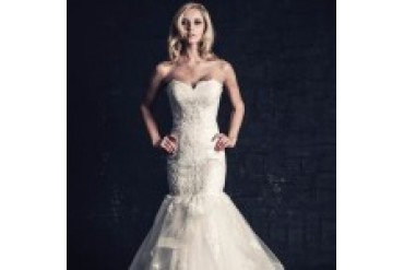 Ella Rosa Wedding Dresses - Style BE205
