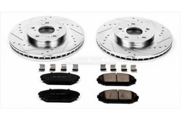 Power Stop Performance Brake Upgrade Kit K2299 Replacement Brake Pad and Rotor Kit
