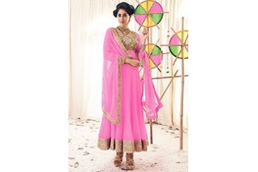 Fab Look Chiffon Ankle Length Anarkali Suit