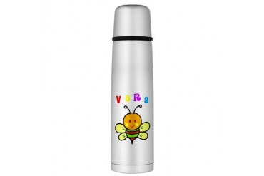 Vera Large Thermos Bottle Cute Large Thermosreg; Bottle by CafePress