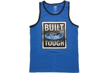 Ford Built Tough Diamond Plate Ringer Tank Top
