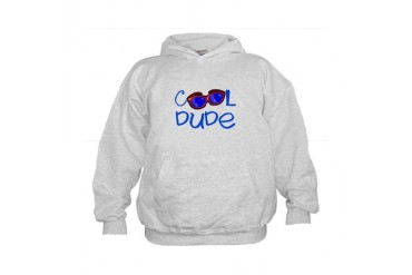 Cool Dude New baby Kids Hoodie by CafePress