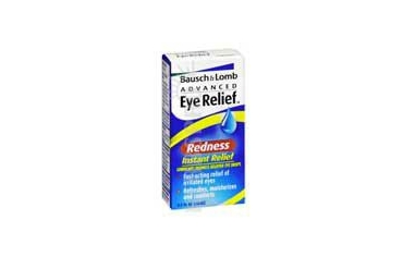 Bausch And Lomb Advanced Eye Relief Instant Redness Relief Lubricant Eye Drops 0.5 oz