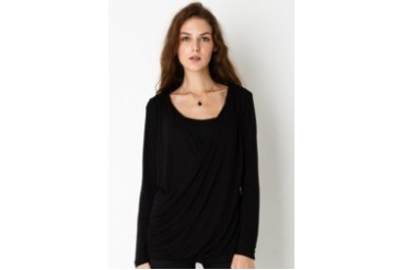 Bodytalk Drapperious Long Sleeves Blouse
