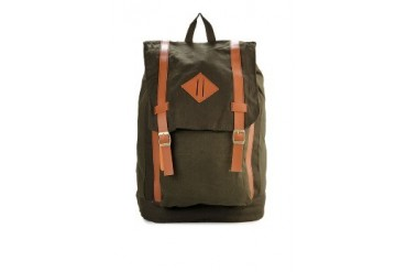 Tucked In Brooklyn Canvas Backpack
