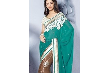 Angelic Half And Half Saree
