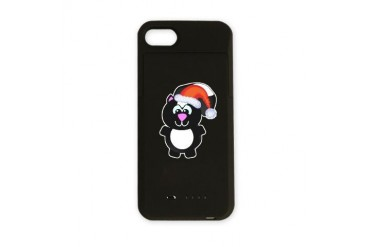 skunky santa.png Animals iPhone Charger Case by CafePress