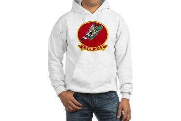 VMA 331 Bumblebees Military Hooded Sweatshirt by CafePress