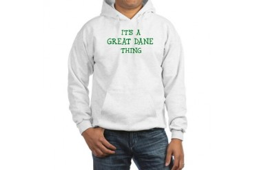 Great Dane thing Pets Hooded Sweatshirt by CafePress