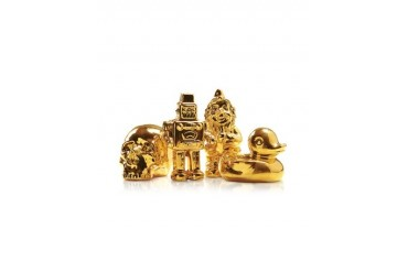 Goldies - Gold-Plated Porcelain Statuettes