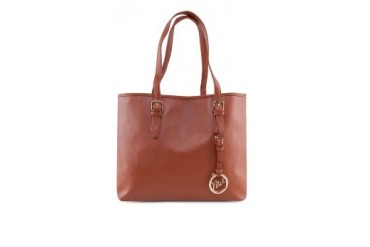 Faux Emboss Leather Tote