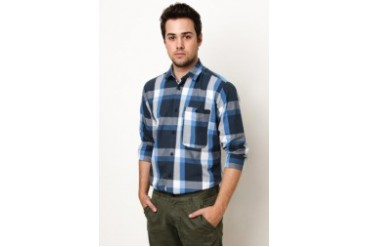 Tap Checkered Long Sleeve Shirt