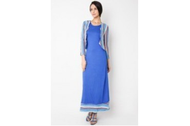 Extu Special Collection Lebaran Maxi Dress Kelly