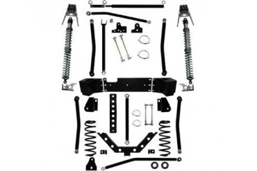 Rock Krawler 5.5 Inch X Factor Plus Comp Coil Over Long Arm Lift Kit JK9304 Complete Suspension Systems and Lift Kits