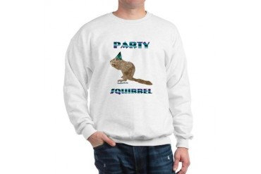 Party Squirrel Pets Sweatshirt by CafePress