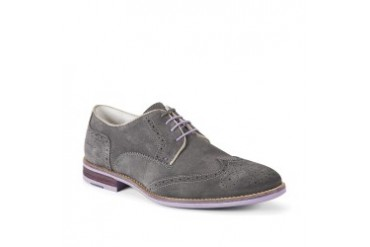 Social Gathering Suede Wingtip Shoe