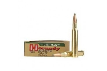 Hornady Soft Point Light Magnum Rifle Ammunition Hornady Ammo 308 Win 150gr Sp Lm 20box