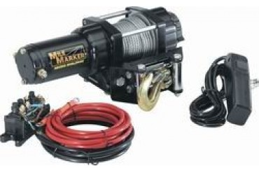 Mile Marker PE2500 Electric Winch  77-50105 1,000 to 2,500 lbs. ATV Winches