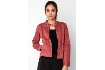 Triset Long Sleeve Jacket Dusty Pink