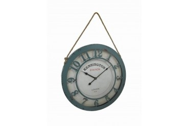Kensington Station 20 Inch Diameter Wall Clock