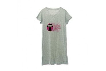 Save The Hooters Breast cancer Women's Nightshirt by CafePress